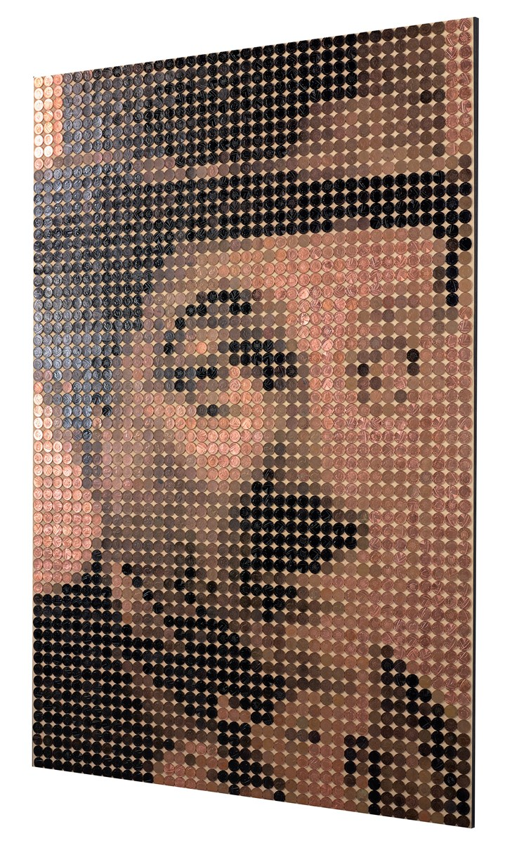 Charlie Chaplin by ed chapman -  sized 32x47 inches. Available from Whitewall Galleries
